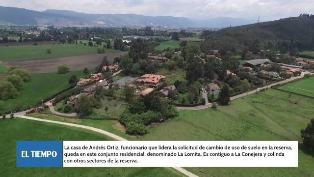 """""""Funcionarios del gabinete de Peñalosa habrían construido ilegalmente en la reserva Thomas van der Hammen"""", dice Ángela Robledo"""