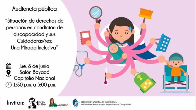 Audiencia Pública en el Congreso. Políticas de discapacidad retroceden en Bogotá