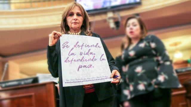 Se defiende la vida defendiendo la paz.