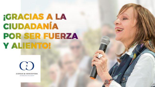 Ángela María Robledo, la segunda mejor Representante a la Cámara.