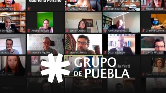 Grupo de Puebla crea red de parlamentarios progresistas en Iberoamérica.