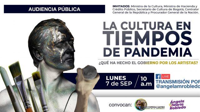 La cultura en tiempos de pandemia.