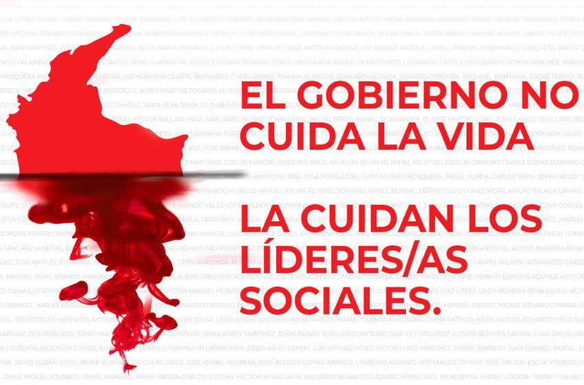 Debate sobre el asesinato de líderes/as sociales