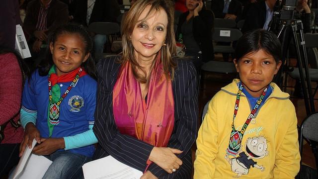 Niños de La Guajira exigen una segunda oportunidad: Ángela Robledo