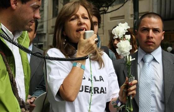 Las mujeres de Colombia le decimos Sí a la Paz: Ángela María Robledo