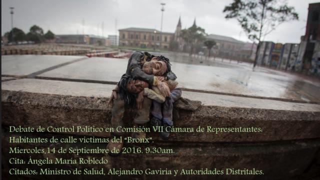 Habitantes de calle víctimas del «Bronx»