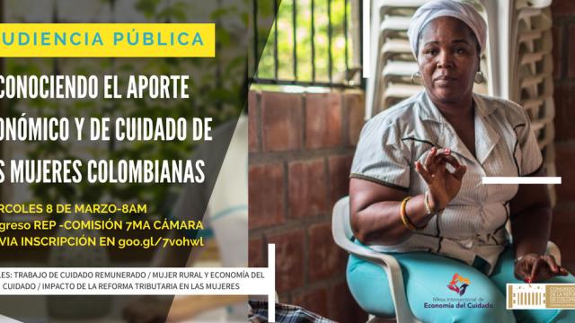 """""""Las mujeres ponen 21 puntos del PIB en trabajo de cuidado gratis"""": Ángela María Robledo"""