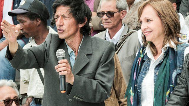 El congreso con los ciudadanos habitantes de calle.